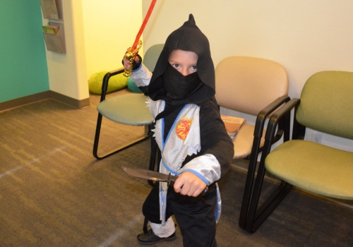 Halloween Candy Buy Back ninja costume