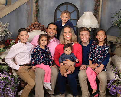 Family of Pediatric Dentist Dr. Sean Vostatek in Colorado Springs, CO