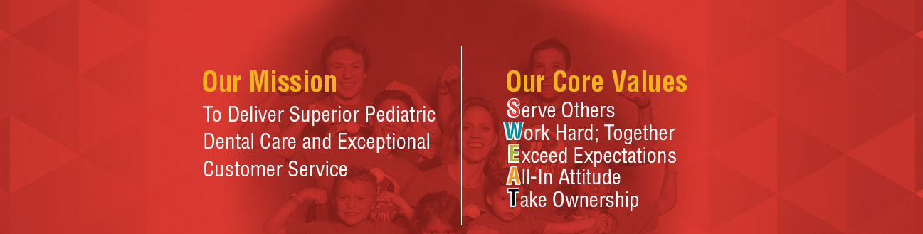 Core Values page art for Pediatric Dentist Dr. Sean Vostatek in Colorado Springs, CO